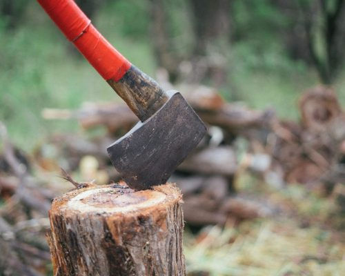 photo-of-axe-on-wooden-log-3619797